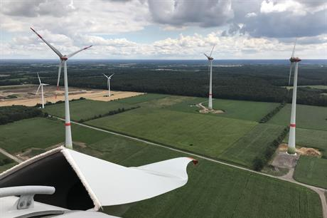 European Energy repowered its Lohkamp project in Lower Saxony (above) in April 2018