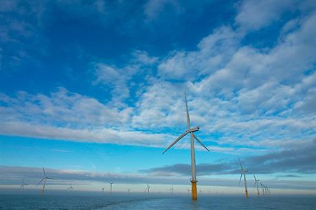 Centrica operates the Lynn and Inner Dowset wind farm
