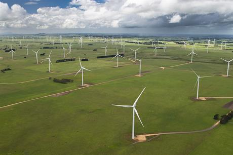 Vestas has previously delivered turbines to the 420MW Macarthur project (above) in Victoria