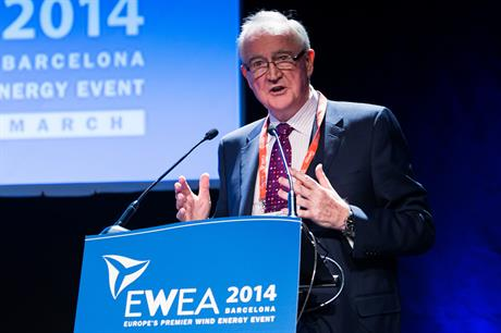 O'Connor was the recipient of EWEA's Poul La Cour award in 2014