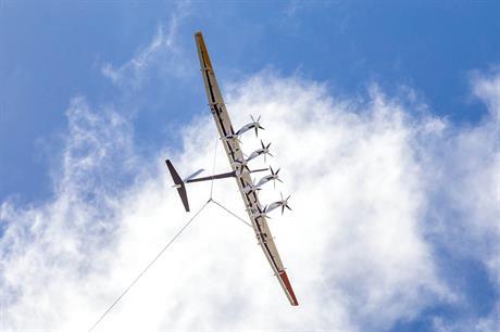 Under Google's X, Makani said its kite design had tripled in size