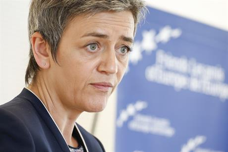 Commissioner Margrethe Vestager, in charge of the European Commission's competition policy (pic: Friends of Europe)