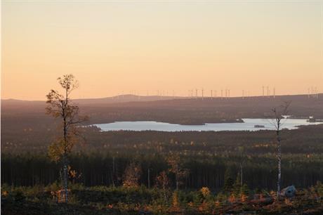 Svevind has developed the Markbygden ETT site (above) over a period of 15 years (pic credit: Svevind)