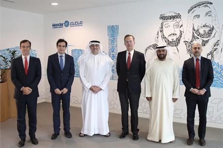 Masdar and Cepsa signed the MoU at the Abu Dhabi Sustainability Week (above), an annual gathering in the United Arab Emirates