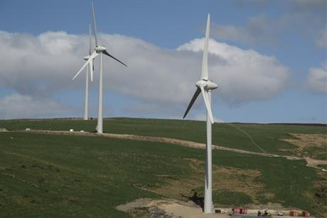 Mean Moor comprises three of Enercon's E70 2.3MW turbines