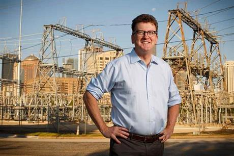 Michael Skelly, president of Clean Line Energy, which is developing the Grain Belt Express Line
