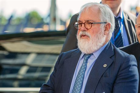 European climate action and energy commissioner Miguel Arias Canete (pic: Arno Mikkor)