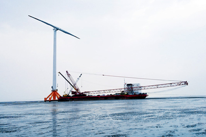 A 2MW SCD Ming Yang offshore turbine