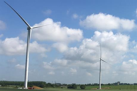 Boralex's 24MW Mont de Bagny project (above) in northern France went online in August