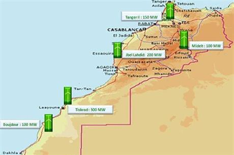 The consortium will design, build and operate five projects across Morocco