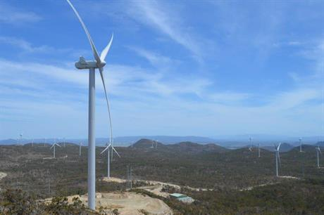 The 180MW Mount Emerald wind farm in Queensland is the largest in the state (pic: MEWF)
