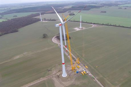 Nordex's new N131 3.3MW turbine has been installed at a site in Germany