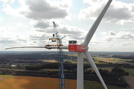 Nordex first unveiled its N149/4.0-4.5 in September, giving Windpower Monthly exclusive access