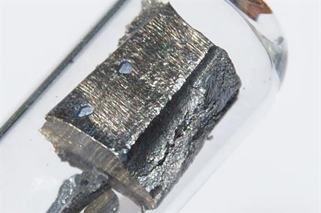 Neodymium is used in the manufacturing of permanent magnet generators