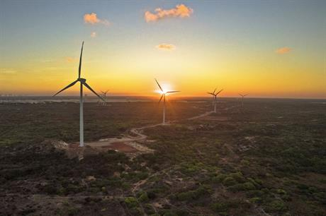 Neoenergia has stakes in 412.5MW of operational wind farms in Brazil
