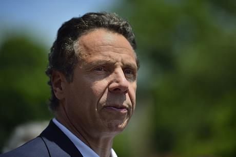 New York state governor Andrew Cuomo