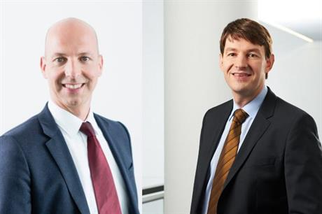 Christoph Burkhard (left) will replace Bernard Schaeferbarthold as Nordex CFO