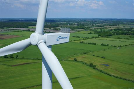 Nordex N100/3300 turbine will be used for the first time in the Netherlands