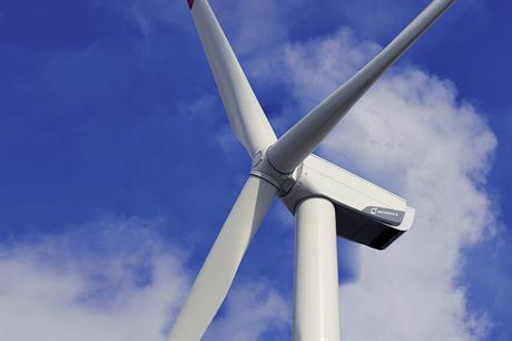 Nordex's N100 2.5MW turbines are used at the two MEM-supported projects