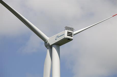 Nordex's N117/3000 turbine will be used at the Kuolavaara-Keulakkopaa project