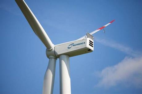 Nordex will install its N117/3000 turbines on the project