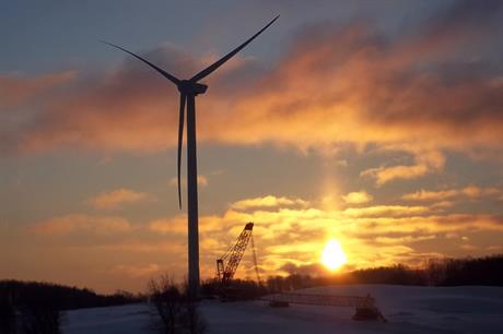 Northern Power Systems' 2.3MW PMG wind turbine