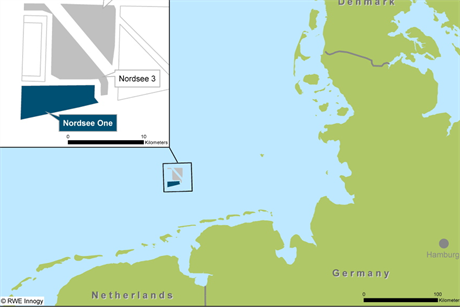 Northland Power owns 85% of the the Nordsee cluster