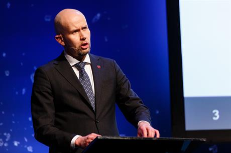 Energy minister Tord Lien has approved the 200MW Tonstad project (pic: Norsk olje og gass)