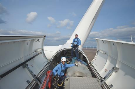 WMPR forecasts $8.5 billion will be spent on unplanned repairs and correctives at onshore wind farms this year (pic credit: Duke Energy)