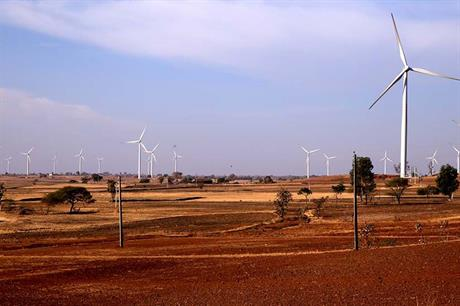 Andhra Pradesh is knocking investor confidence by looking to alter tariff rates (pic: Orange Renewables)