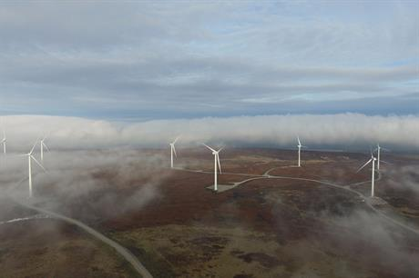 Repowering boosted E.on's Ovenden Moor site in West Yorkshire from 9.2MW to 22.5MW (pic: Wind Prospect)