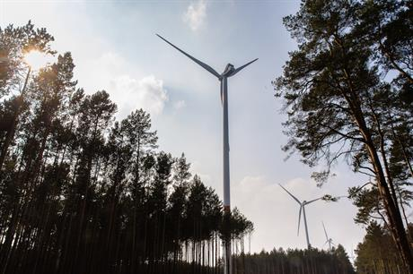 PNE commissioned wind farms in France and Germany with a combined capacity of about 37.5MW in the first half of the year