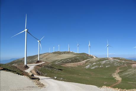 Greece has just over 3.5GW of operational onshore wind capacity, according to Windpower intelligence (pic: Koliri/Wikimedia Commons)