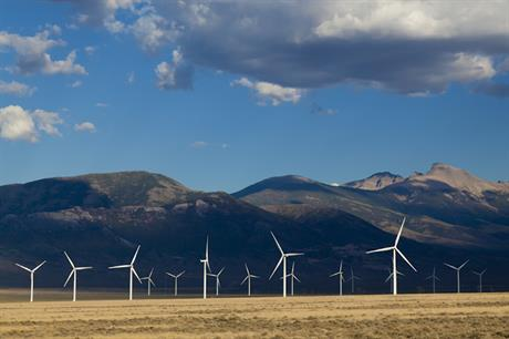 The cost of wind has fallen to a record low in the US