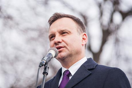 Poland's president: Andrzej Duda of right-wing Law & Justice party