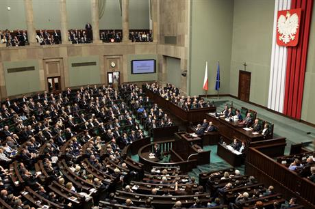Poland's lower house approved the amendment in mid-July. The senate is due to vote on it by the end of the month (pic credit: Katarzyna Czerwińska/Wikimedia Commons_