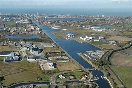 The wind-to-hydrogen plant would be built near the Port of Oostende, Belgium
