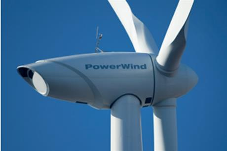 The 500MW turbine is Powerwind's best seller