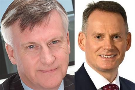 RES chief executive Ian Mays (left) will step down in October, to be replaced by Ivor Catto (right)