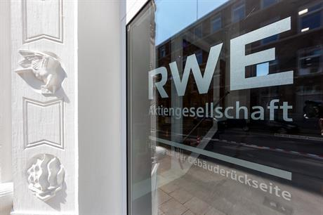 RWE's headquarters in Essen, Germany