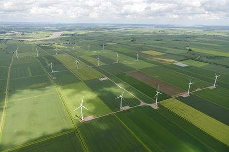 RWE International's 32.8MW Goole Fields wind farm in the UK