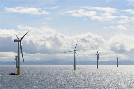 RWE's 576MW Gwynt y Mor forms part of its 3.5GW operating renewables portfolio