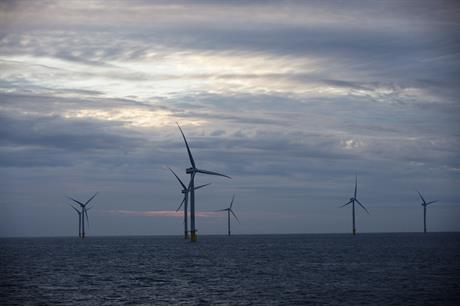 Macquarie owns 25% of the 573MW Race Bank wind farm off the UK's south coast