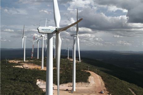 Renova Energia's Alto do Sertao I series of wind projects in Bahia