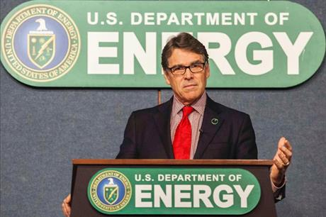 US energy secretary Rick Perry had made a similar proposal to subsidise coal and nuclear in September