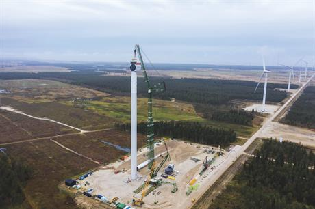 SGRE installed its SG 11.0-193 DD offshore wind turbine prototype in the first three months of 2020