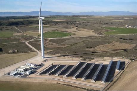 Siemens Gamesa's 2MW La Plana site near Zaragoza