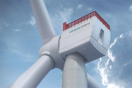 SGRE is aiming for commercial availability by 2024 for its 14MW offshore turbine with 222-metre rotor
