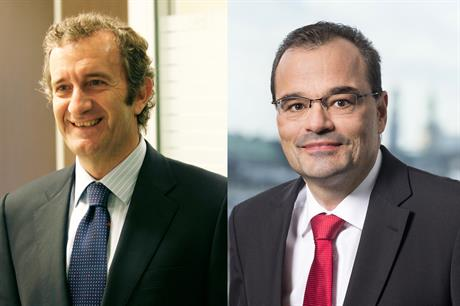 In-Out: Ignacio Martin (left) is replaced by Markus Tacke as CEO of Siemens Gamesa Renewable Energy