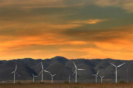 Wind capacity accounted for just under half the total awarded projects in the Mexico auction